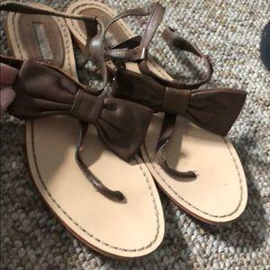 Zara adorable bow sandal Size39